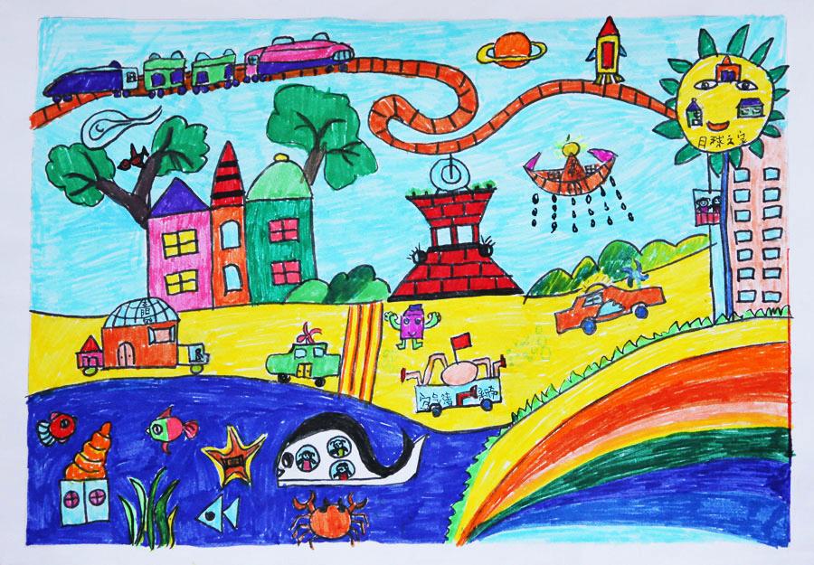2010创意绘画幼儿组