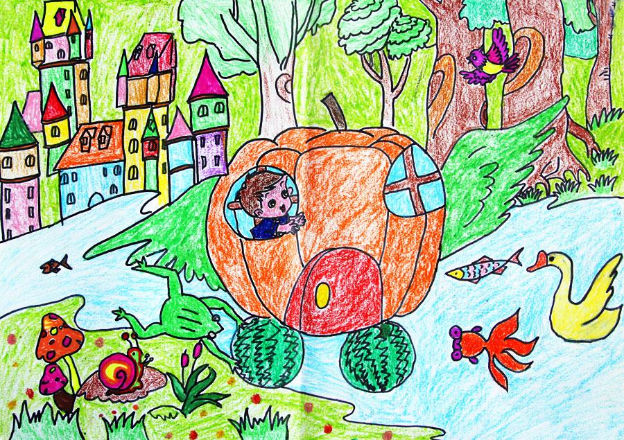 畅想未来儿童画