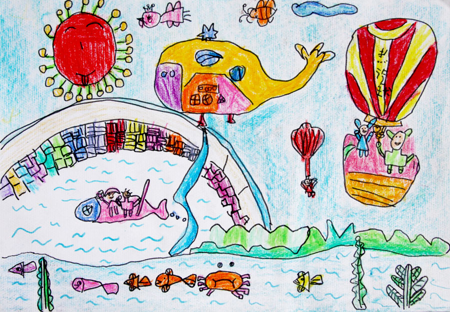 周小童 6岁 幸福的家园 烟台新闻网 胶东在线