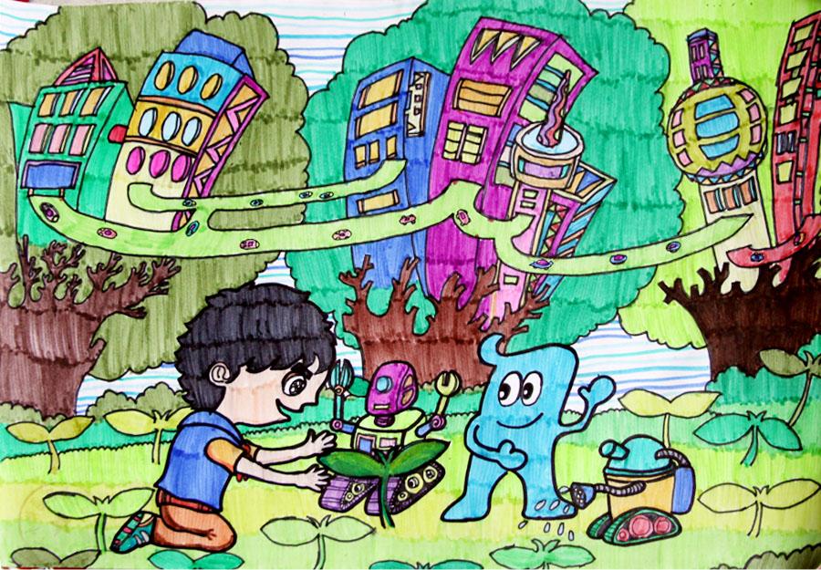 未来的家园|尹馨