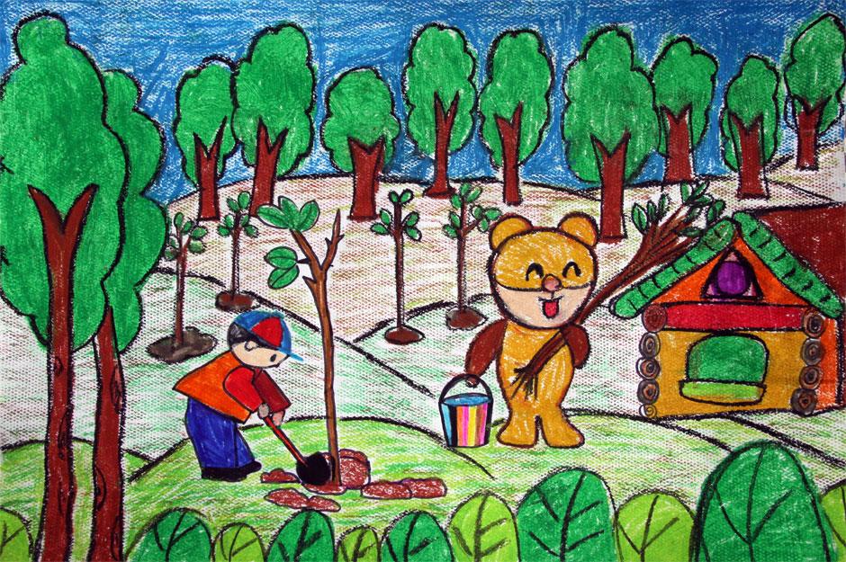 动物的家园童画