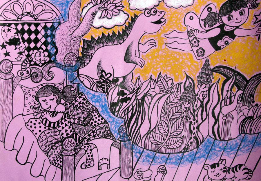 美术画海洋世界