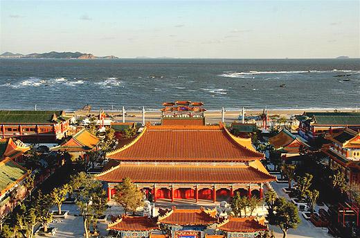 胶东旅游网 烟台旅游 蓬莱三仙山风景区